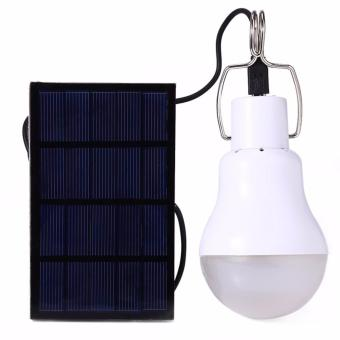 Harga 130LM Solar Lamp Powered Portable Led Bulb Light Solar Energy Lamp Led Lighting Solar Panel Camp Tent Night - intl
