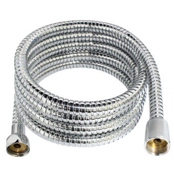 Harga GAKTAI High quality explosion-proof tube 2M long Flexible Stainless Steel Chrome Shower Head Bathroom Water Hose Pipe