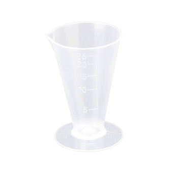 Harga A 25ml Kitchen Laboratory Plastic Measurement Beaker Measuring Cup