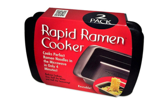 Harga 2Pc Rapid Ramen Cooker: Microwave Perfect Ramen Noodles in Half the Time!