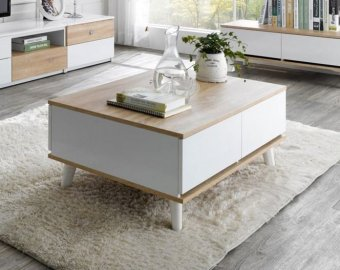 Harga Delpy Coffee Table (Free Delivery)