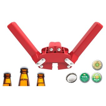 Harga Manual Beer Bottle Capper For Home Beer Crown Caps On Reusable Glass Bottles - intl