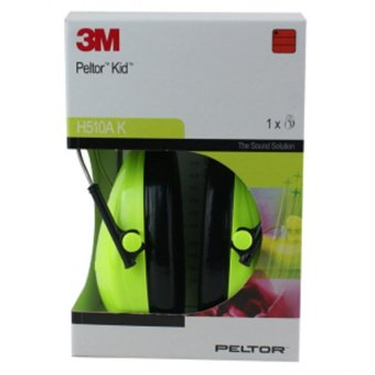 Harga 3M™ PELTOR™ Kids Ear Muffs, Neon Green, H510AK-442-GB