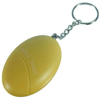 Personal Portable Guard Safety Security Alarm Keychain 3 Colors yellow