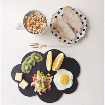 Harga Slate Food Display Platters New shape-Cloud