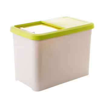 Harga Home home thick pest rice Bucket kitchen plastic rice box 10kg moisture Migang storage m box mounted rice storage box