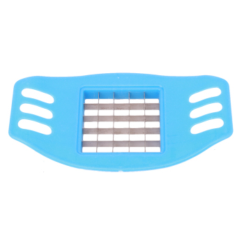 Yingwei Vegetable Potato Slicer Cutter Chopper Chips Making Tool Blue