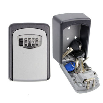 Mini Combination Lock Safe House Keys Storage Box Security Lock Select Acces