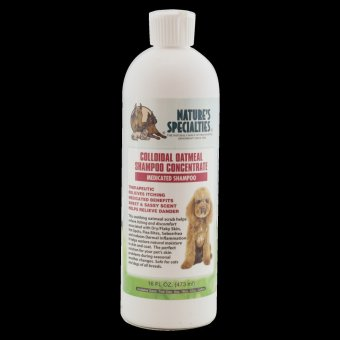 Harga Natures Specialties Colloidol Oatmeal Shampoo for Dogs and Cats