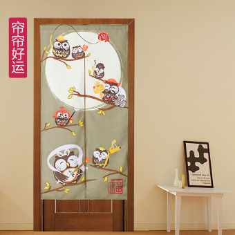 Japanese-style bedroom feng shui send rod cloth off