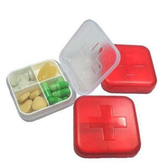 Japanese-style convenient mini portable small medicine box