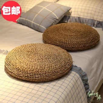 Japanese-style cushion futon straw cushion windows and cushionfuton tatami futon hit Meditation cushion repair and pray mat