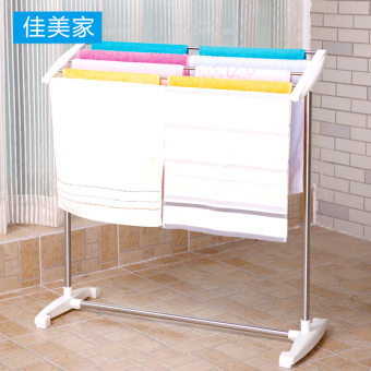 Jia Mei floor stainless steel bathroom towel rack