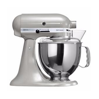 kitchenaid 5 qt mixer. kitchenaid artisan series 5-quart tilt-head stand mixer - metallic chrome kitchenaid 5 qt