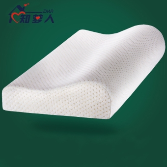 Known dream of slow rebound memory pillow cervical pillow neck pillow butterfly-shaped health care pillow space memory foam adult Zhen Xin - 2