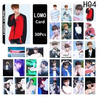 Kuhong 30pcs Set KPOP WANNA ONE Album LOMO Cards Fashion Self Made Paper Photo Card HD