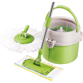 Harga Lamart Tour Mop Set with Accsessories 7L - Green