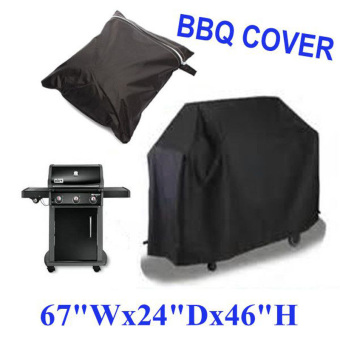 Large BBQ Cover Outdoor Waterproof Barbecue Garden Patio Grill (2) - Intl - 2