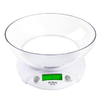 Harga LCD 7 Kg Electronic Kitchen Baking Weighing Scale with Bowl