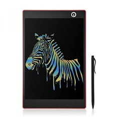 LCD Writing Tablet, 9.7 Inch Multicolor Electric Magnetic Memo Board Message Pads Kids Drawing Pad with Smooth Gradient Stylus - intl