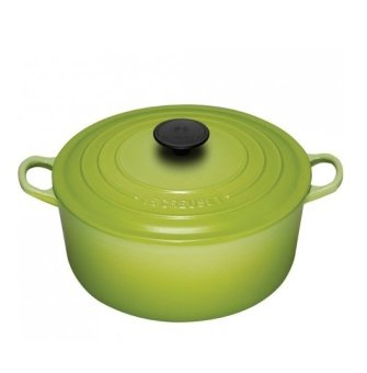 Le Creuset Cast Iron Round French Oven 16cm, Classic (Kiwi)