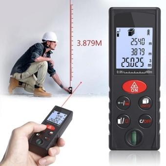 leegoal 60M Digital Laser Distance Meter Rangefinder Handheld Digital Laser Measure Tape Professional Diastimeter - intl