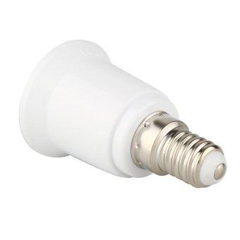 Tenflyer 5pcs E14 To E27 Lamp Holder Converter Socket Light Bulb