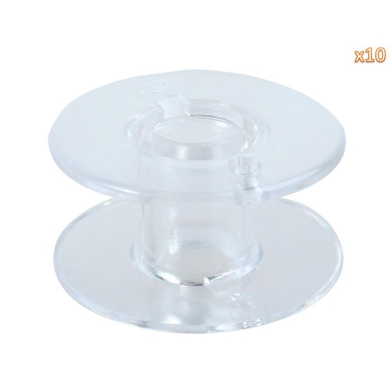 liebao Sewing Machine Bobbins for Singer (Clear, Set of 10) - intl