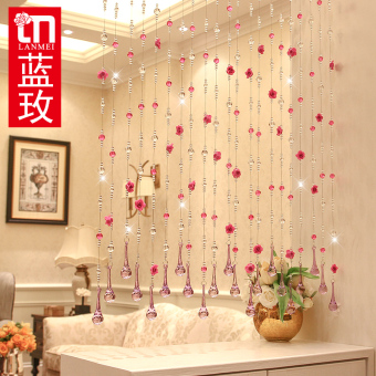 Lm living room feng shui hanging curtain crystal bead curtain