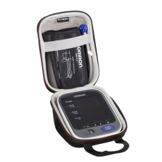 LTGEM EVA Hard Case Travel Carrying Bag for Omron 10 Series Wireless Upper Arm Blood Pressure Monitor (BP786 / BP785N / BP791IT) - intl