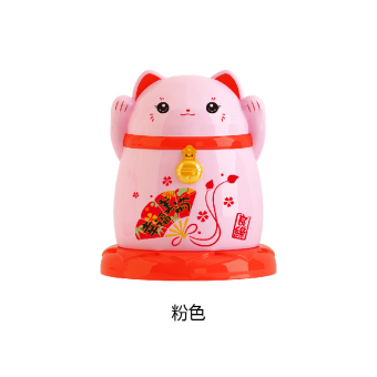 Lucky Cat toothpick box living room restaurant Home toothpick tube  creative cute dust with lid toothpick Holder Gifts to share