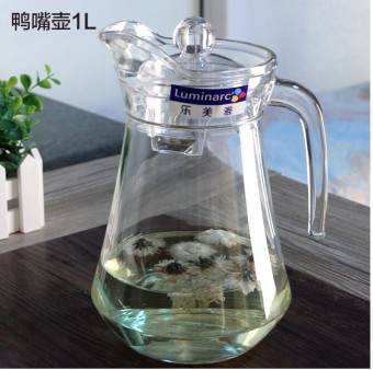 Luminarc heat-resistant glass home teapot Cool Cup cold water pot