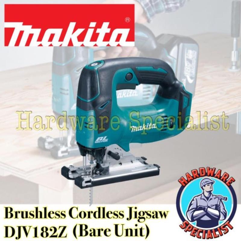 Makita Brushless Cordless 18V Jigsaw DJV182Z (Bare Unit)