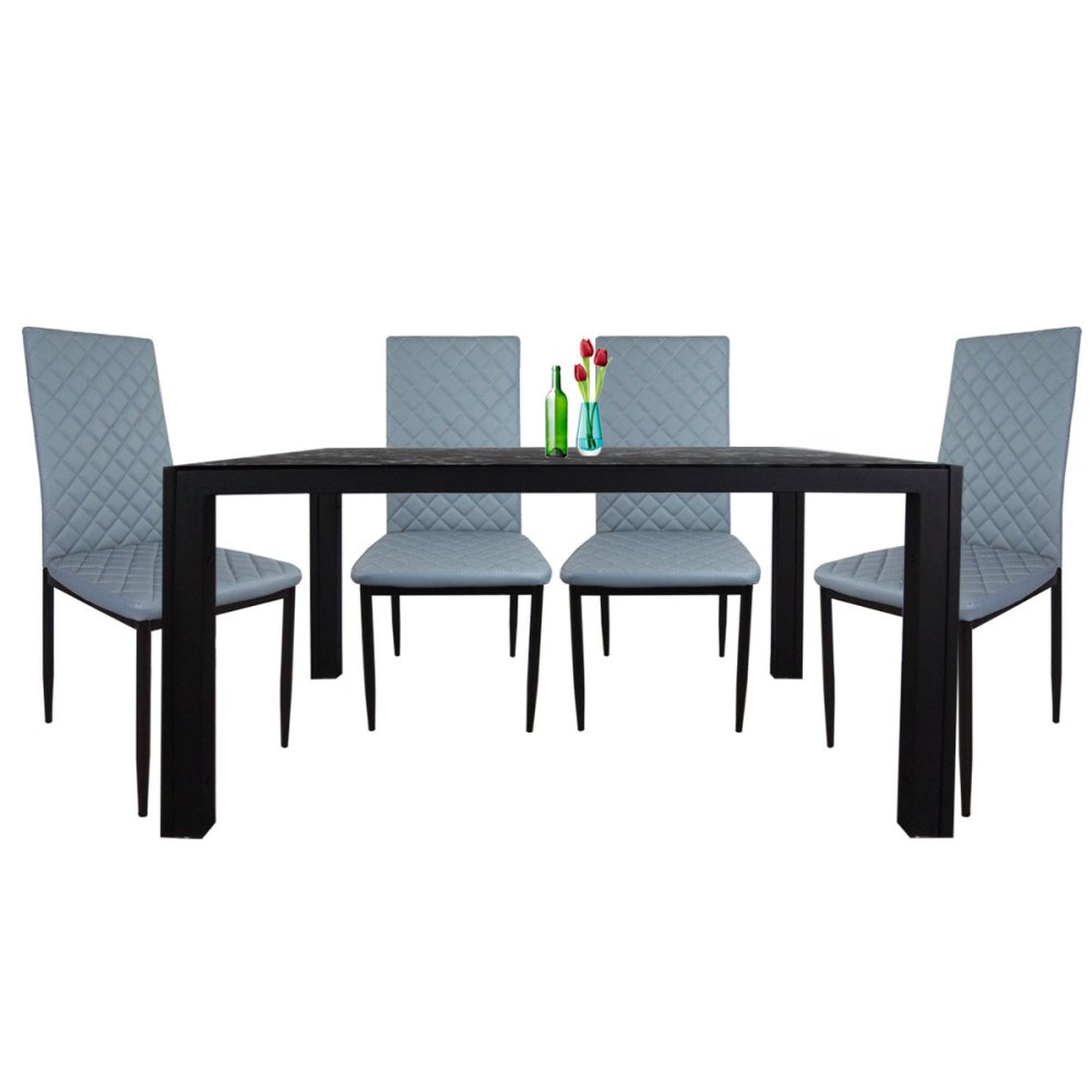4 Chair Dining Sets mamarox 4 chair dining set | lazada singapore