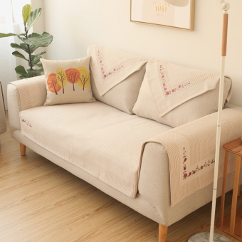 Harga Modern Cotton wishing tree embroidered sofa cushion