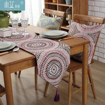 Modern Minimalist Bedroom Living Room Dining Table Cloth Runner Coffee Flag Bed