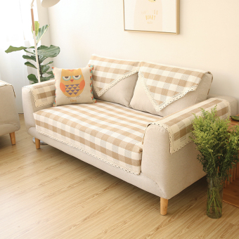 Harga Modern minimalist Four Seasons sofa cover fabric sofa cushion