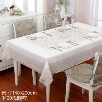 Modern PVC Waterproof Heat Resistant Disposable Tablecloth