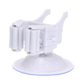 Mop Holder Wall Mounted (White)