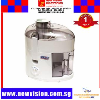 Morries MS300JE Juice Extractor. PSB Safety Mark Approved