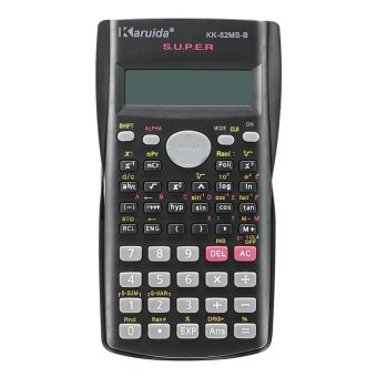 Multi-function 2 Line Display Scientific Calculator 82MS-A Portable Multifunctional Calculator for Mathematics Teaching - intl