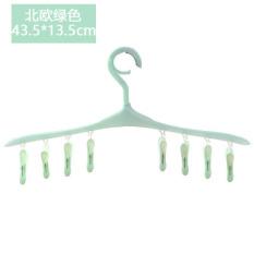 Multi-functional children clip hanger plastic pants folder