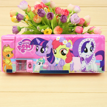 My Little Pony-pattern multifunctional plastic pencil box