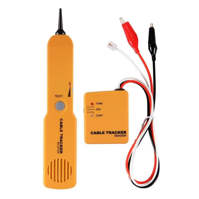 Network Telephone Cable Wire RJ11 Line Tracker Tester Detector Tool Kit - intl