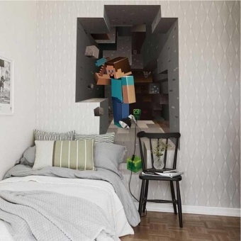 For Sale New Childre Mine Craft Wall Sticker Decal Home Room - Window stickers for home singapore