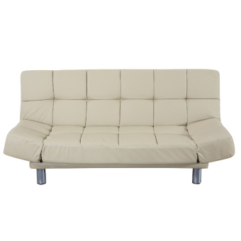 New Leatherette Sofabed Brown (Free Delivery)