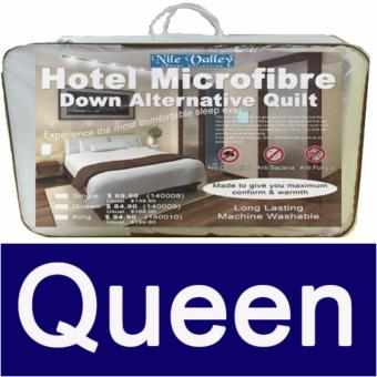 Nile Valley's Down Alternative Quilt with Mite Guard. As used in 5 star Hotel