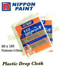 buy nippon paint online spray paint lazada source nippon paint plastic drop cloth 9ft x 12 ft 5 packs