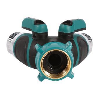 garden hose splitter. NPT3/4 2 Way Heavy Duty Garden Hose Splitter Y Shape Valve Water Pipe Connector