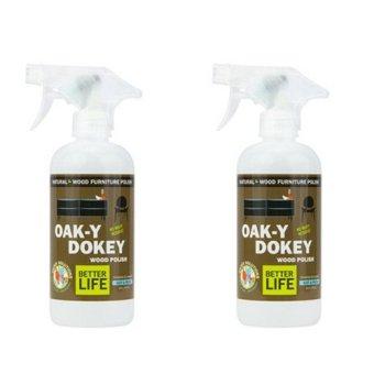 Oak-Y-Dokey Natural Wood Cleaner (Twin Pack)